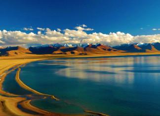 ทะเลสาบชิงไห่, 青海湖, มณฑลชิงไห่, 青海省, ท่องเที่ยวจีน, ประเทศจีน, สถานที่ท่องเที่ยวในประเทศจีน, เกาะนก, เขาตะวันจันทรา
