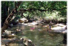 น้ำตกหินลาด, น้ำตก, ท่องเที่ยว, สถานที่ท่องเที่ยว, แหล่งท่องเที่ยว, น้ำตก, น้ำตกหินลาด, สุราษฎร์ธานี