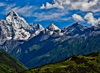 ภูเขาสี่ดรุณี, มณฑลเสฉวน, ท่องเที่ยวจีน, สถานที่ท่องเที่ยวในประเทศจีน, 四姑娘山, 四川省, เขาสี่ดรุณี, เมืองเฉิงตู