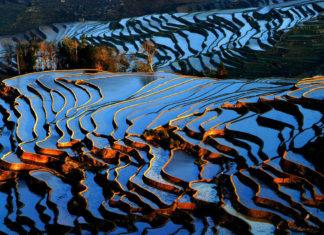 ทุ่งนาขั้นบันไดหยวนหยาง, หยวนหยาง, ท่องเที่ยวจีน, สถานที่ท่องเที่ยวในประเทศจีน, 元阳梯田, 云南省, ทุ่งนาขั้นบันไดหยวนหยาง, เมืองหยวนหยาง, มณฑลยูนนาน