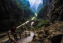 ภาพถ่าย, ภาพหลังทริป, ฉงชิ่ง, อู่หลง, หลุมฟ้าสะพานสวรรค์, เทียนเซิงซานเฉียว, แม่น้ำแยงซีเกียง, สะพานข้ามแม่น้ำแยงซีเกียง, หงหยาต้ง