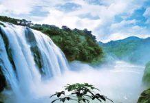 มหาน้ำตกหวงกั่วซู่, น้ำตกหวงกั่วซู่, 黄果树大瀑布, มณฑลกุ้ยโจว, 贵州省, ท่องเที่ยวจีน, สถานที่ท่องเที่ยวในประเทศจีน, อุทยานฟ้าเทียนซิงเฉียว