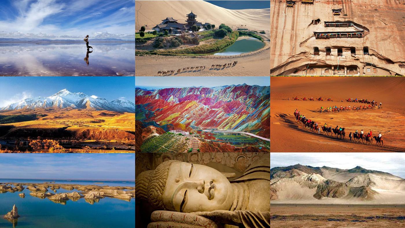 ทริปท่องเที่ยวจีน, มณฑลชิงไห่, มณฑลกานซู่, ทะเลสาบชิงไห่, ภูเขาสายรุ้ง, เส้นทางสายไหมโบราณ, เที่ยวจีน